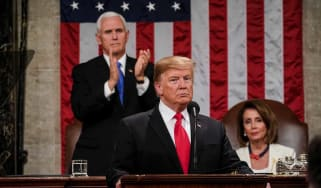 Donald Trump delivers his second State of the Union address