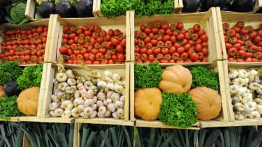 Vegetables, market
