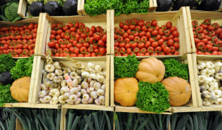 Vegetables, market
