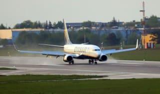 Ryanair diverted plane