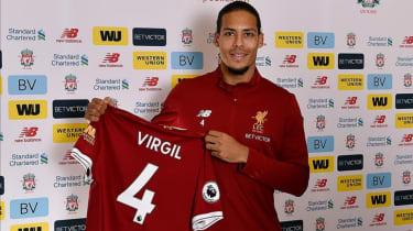 Virgil van Dijk Southampton Liverpool transfer