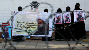 Protests against execution of Shiite cleric Nimr al-Nimr