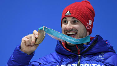 Dom Parsons bronze medal PyeongChang Medals Plaza