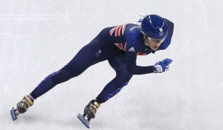 Elise Christie Team GB medal hopes PyeongChang 2018 Winter Olympics