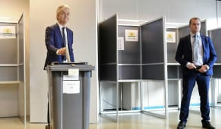 Geert Wilders in Dutch elections