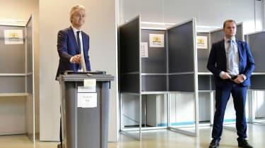 Geert Wilders in Dutch elections
