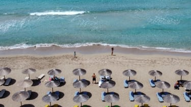 A beach in Greece