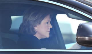 Former Culture Secretary Maria Miller drives away from Parliament after resigning
