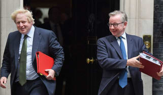 Theresa May is being 'held hostage' by Boris Johnson and Michael Gove