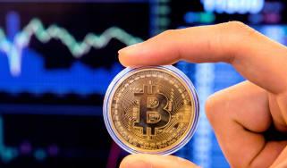 Bitcoin values £4,900