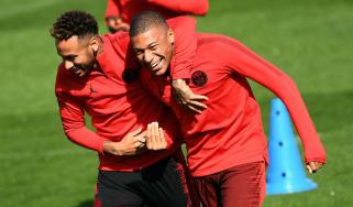 Liverpool vs. PSG Neymar Kylian Mbappe Champions League