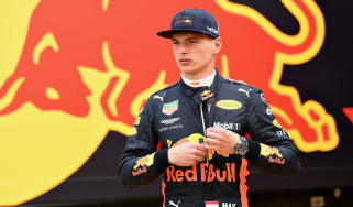 Red Bull Racing driver Max Verstappen