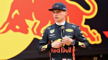 Red Bull Racing driver Max Verstappen