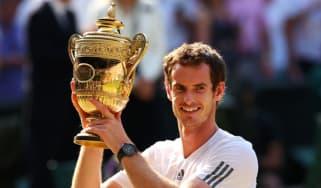 Andy Murray at Wimbledon 2013