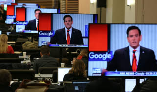 Russian state-media is accused of using Google to influence last year's US election