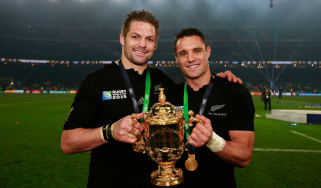 Richie McCaw and Dan Carter of New Zealand, Rugby World Cup 2015
