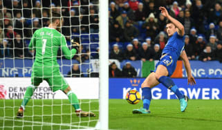 Harry Maguire Man Utd vs. Leicester Premier League