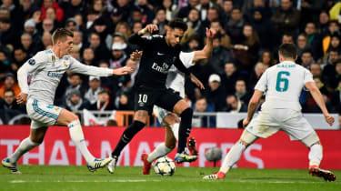 PSG Neymar Champions League
