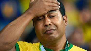 Brazil World Cup semi final defeat