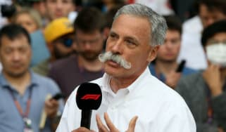 F1 CEO Chase Carey spoke to media and fans ahead of the cancelled Australian Grand Prix