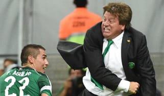 Mexico manager Miguel Herrera