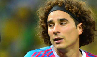 Mexico's goalkeeper Guillermo Ochoa