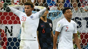 Dele Alli and Jesse Lingard played for England at the 2018 Fifa World Cup