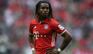 Renato Sanches of Bayern Munich