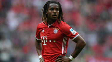 Renato Sanches of Bayern Munich