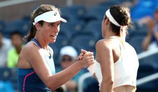 Johanna Konta 2018 US Open tennis