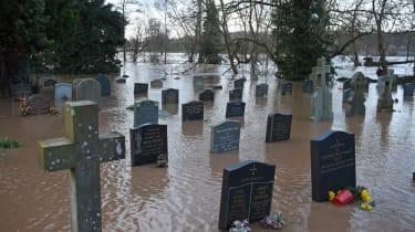 Storm Dennis flooding