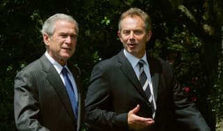 George W. Bush and Tony Blair in 2006