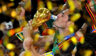 World Cup trophy, Spain 2010