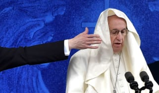 Pope Francis during his recent visit to Ireland
