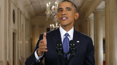 Barack Obama announced executive actions in the US