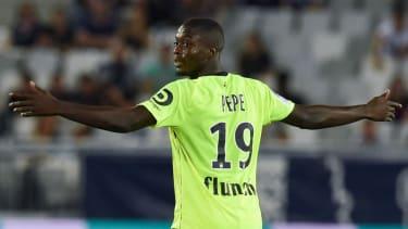 Nicolas Pepe plays international football for the Ivory Coast