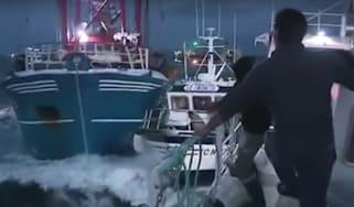 Fishing scallops