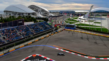The Formula 1 Russian Grand Prix takes place at the Sochi Autodrom in Sochi