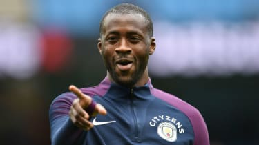 Yaya Toure Manchester City transfer news out of contract