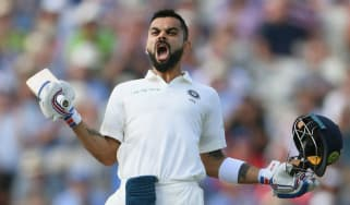 Virat Kohli century England vs. India Test Edgbaston