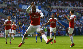 Alexandre Lacazette Arsenal Premier League
