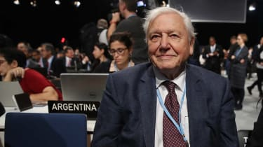Sir David Attenborough at the COP24 UN climate summit in Poland