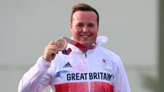 Team GB shooter Matthew Coward-Holley