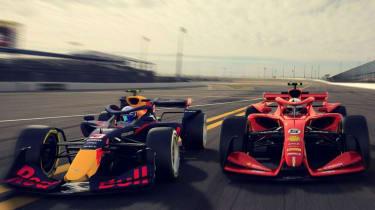 Formula 1 2021 concept cars