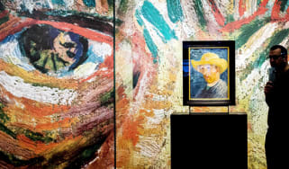 van Gogh's Self-Portrait with a Straw Hat