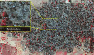 Concentration of Boko Haram attacks on Nigerian towns and villages