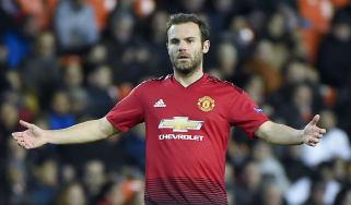 Manchester United signed Spanish midfielder Juan Mata from Chelsea in 2014