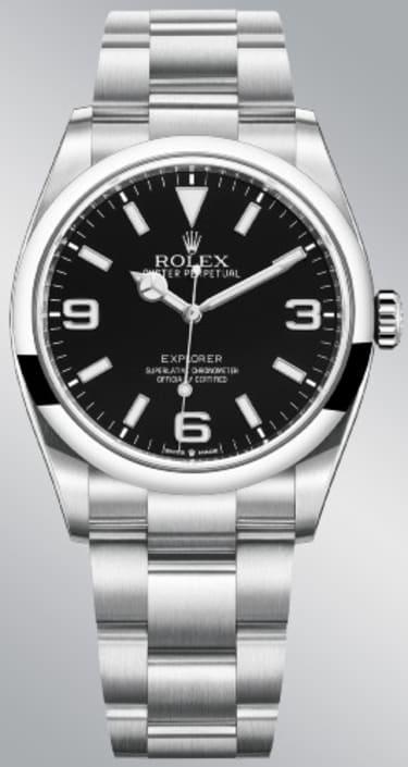 Rolex Oyster Perpetual Explorer