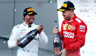 Lewis Hamilton and Sebastian Vettel finished second and third at the F1 2019 Azerbaijan GP