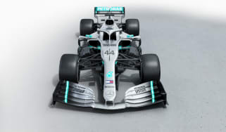 Mercedes W10 F1 2019 car launch